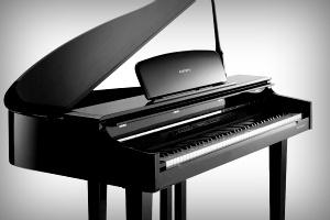 CGP220 cabinet kurzweil cgp220w digital grand piano - polished ebony Kurzweil CGP220W Digital Grand Piano - Polished Ebony cgp220 20body