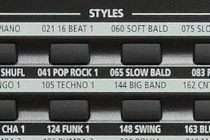 KP200 - Styles