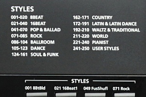 KP300X - Styles
