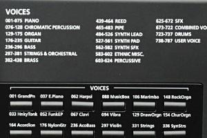 KP300X - Voices
