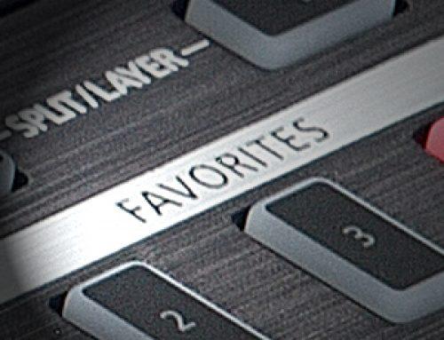 Customizing Favorites