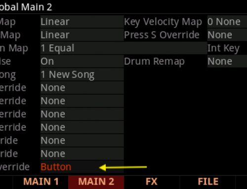 Sustain Pedal Use with KB3 Programs