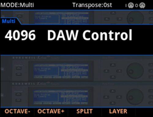 DAW/VI Control Template